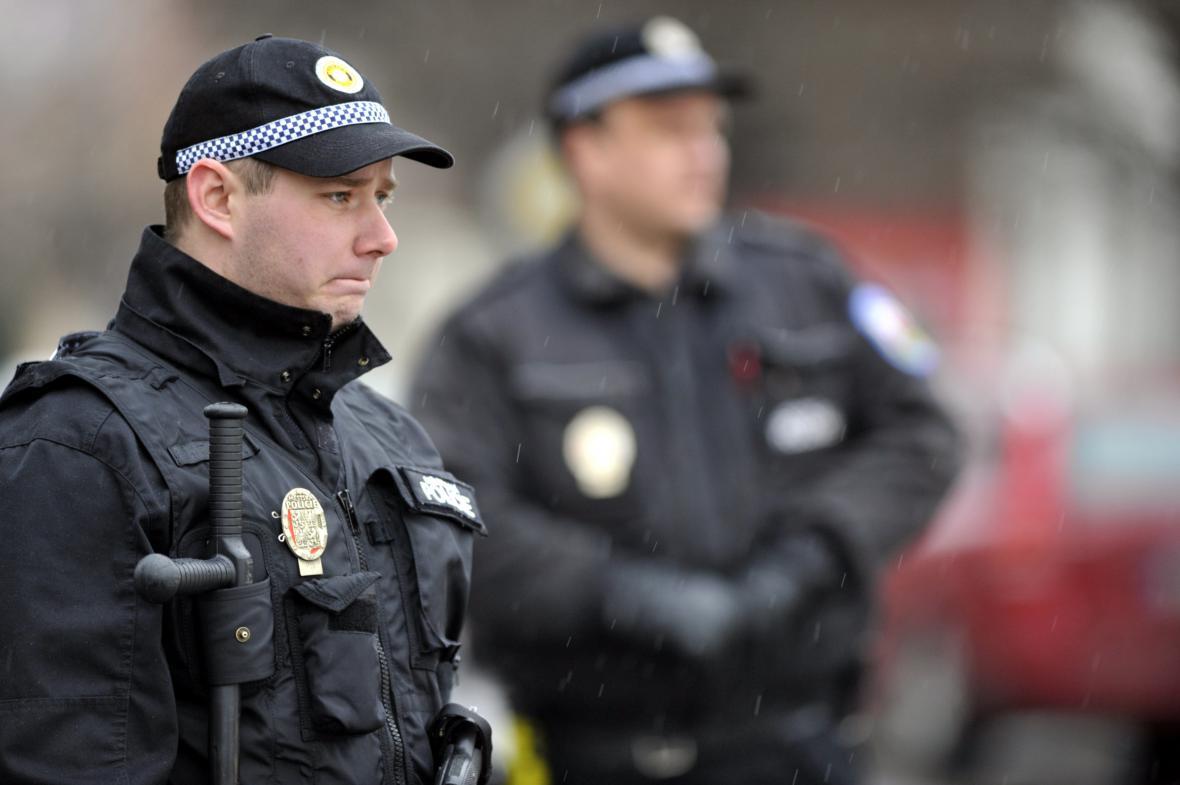 Policejní zásah v Uherském Brodě