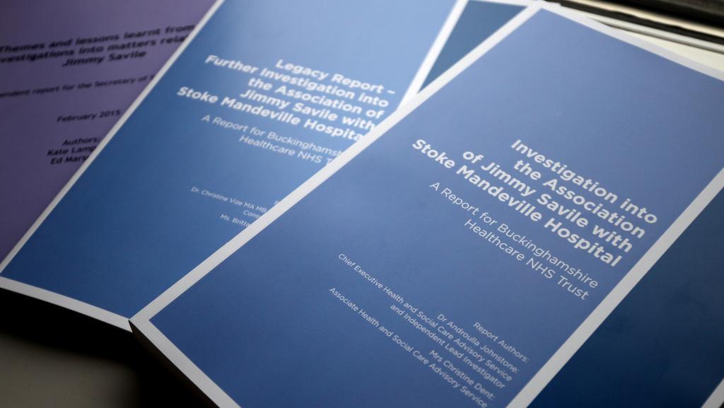 Vyšetřovací spisy k Savileově kauze z nemocnice Stoke Mandeville