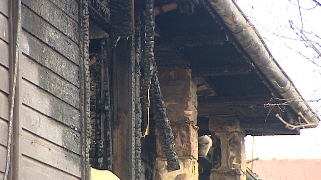 Škola po požáru
