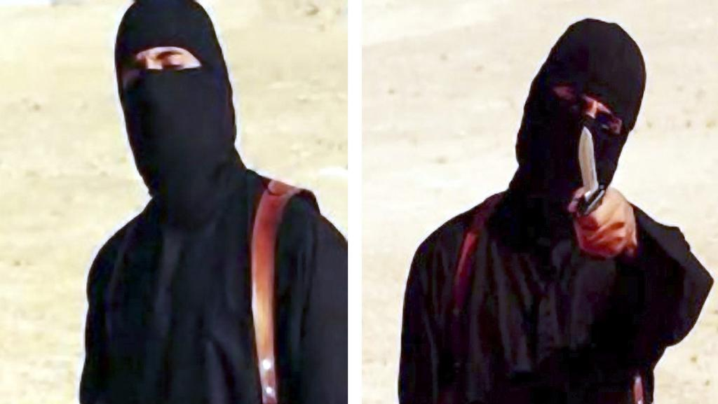 Extremista, tzv. džihádský John, na videích Islámského státu