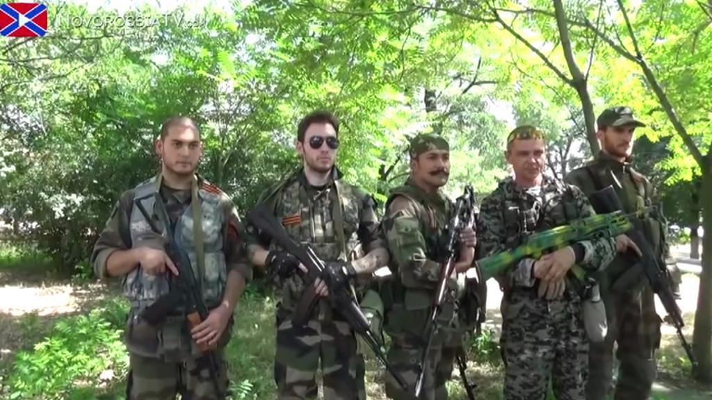 Bojovníci na Ukrajině
