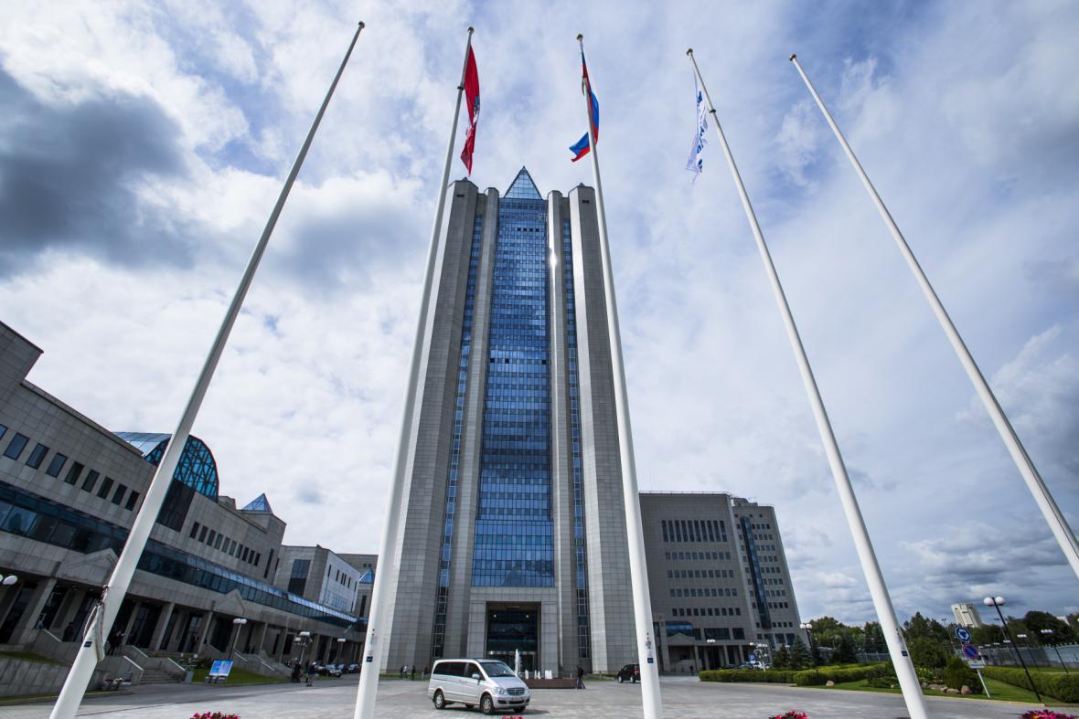 Sídlo Gazpromu