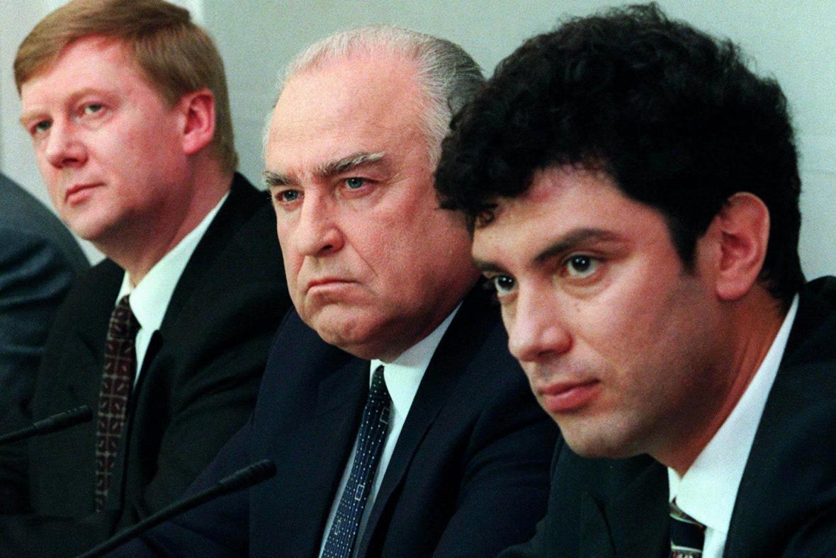 1997 - v Černomyrdinově vládě