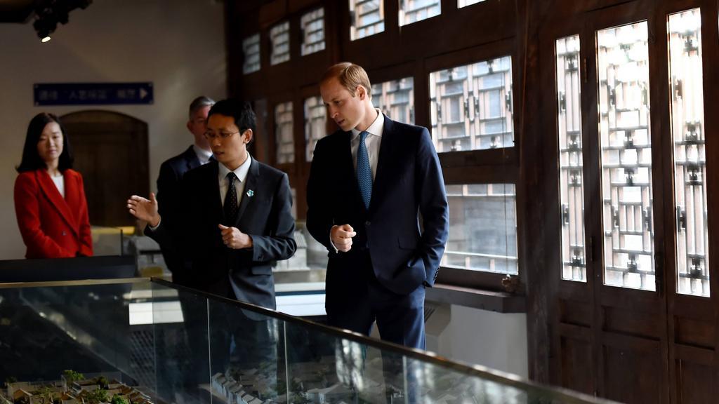 Prohlídka v jednom z pekingských muzeí