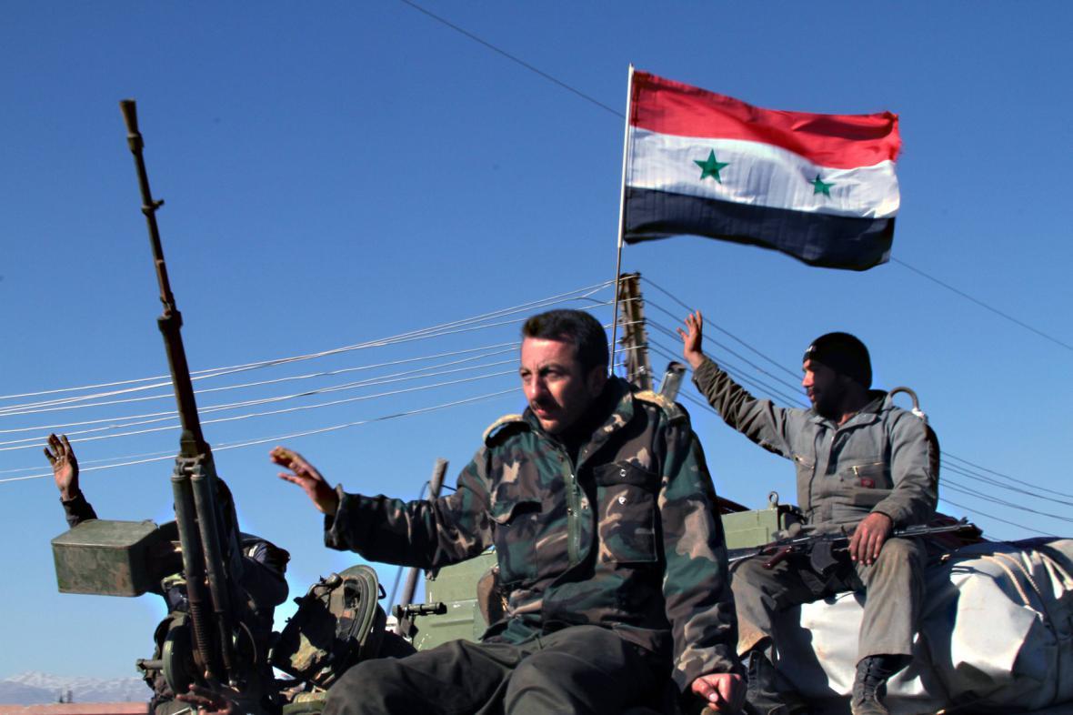 Syrská vládní vojska