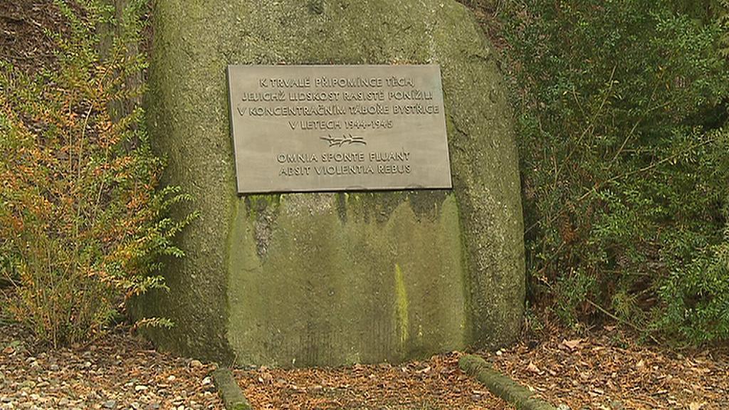 Památník obětí koncentračního tábora v Bystřici