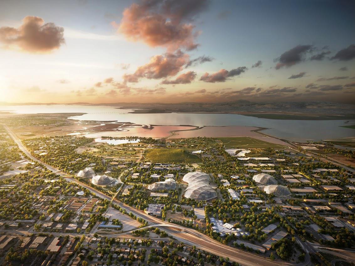 Projekt North Bayshore campus