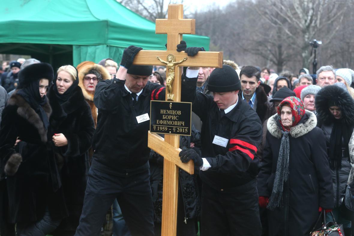 Pohřeb Borise Němcova
