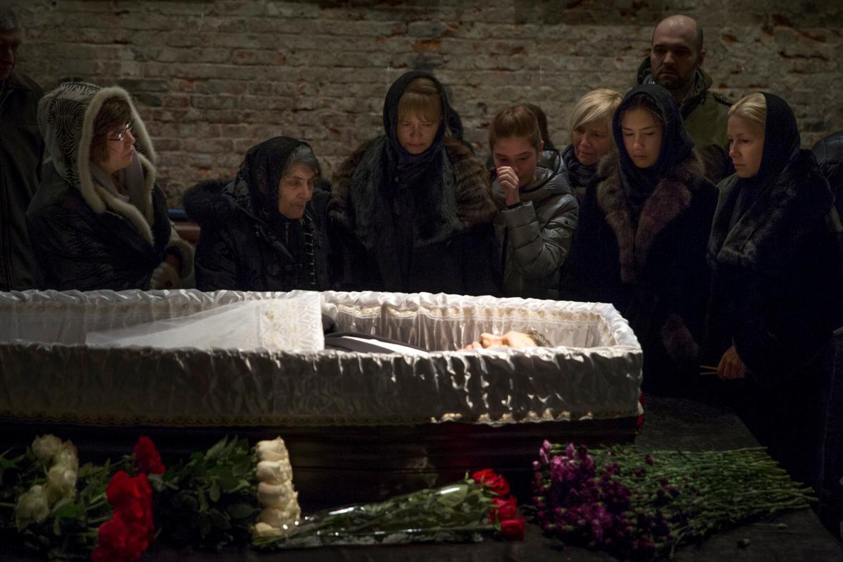 Tryzna za Borise Němcova v Sacharovově centru