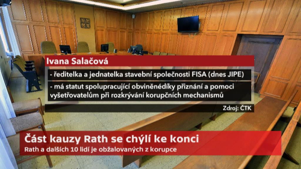 Ivana Salačová, obžalovaná v kauze Rath