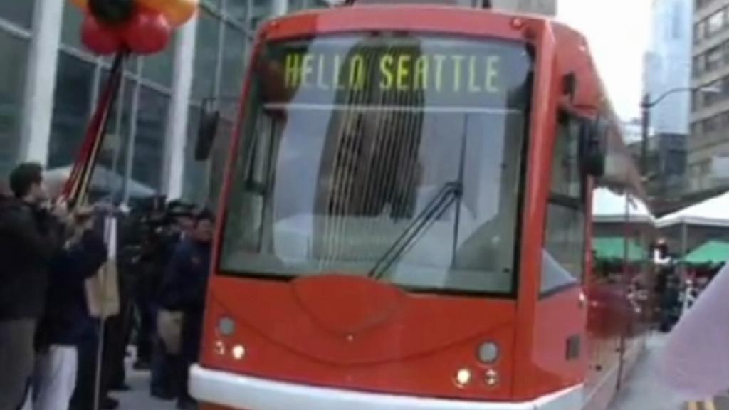 Tramvaj Inekon v Seattlu