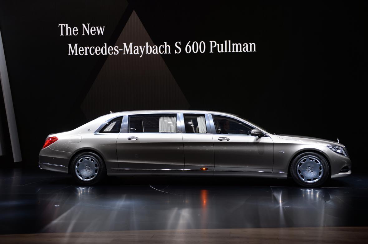 Mercedes-Maybach S 600 Pullmann