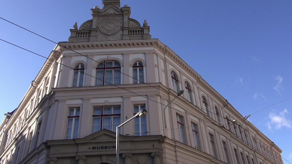 Opravené muzeum v Ústí nad Labem