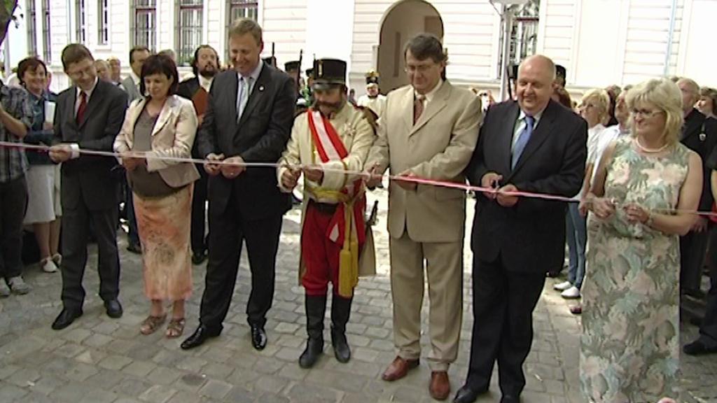 Slavnostní otevření opraveného muzea - rok 2011