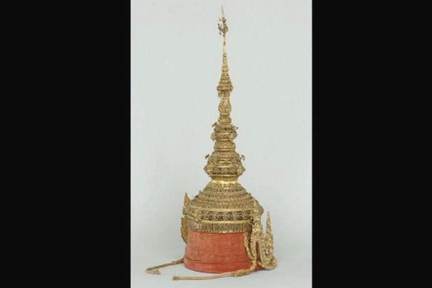 Replika koruny krále Siamu