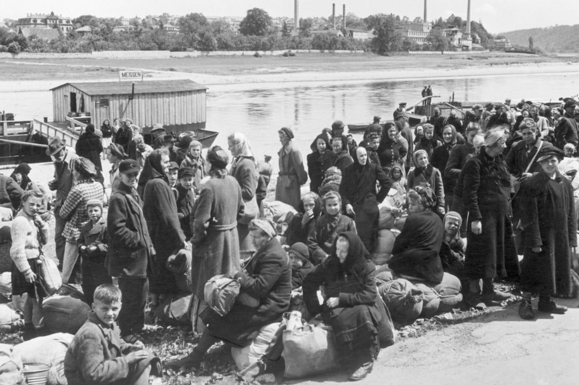 Odsun Němců po 2. světové válce