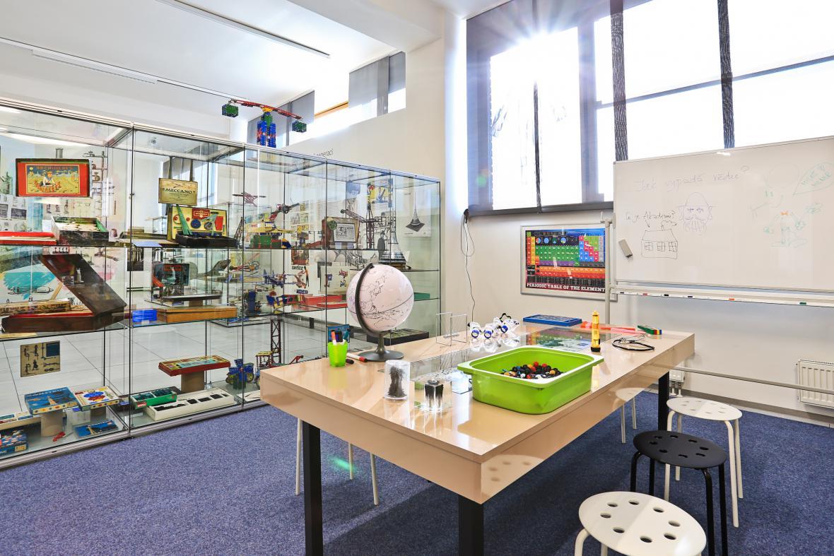 Z výstavy Věda a technika