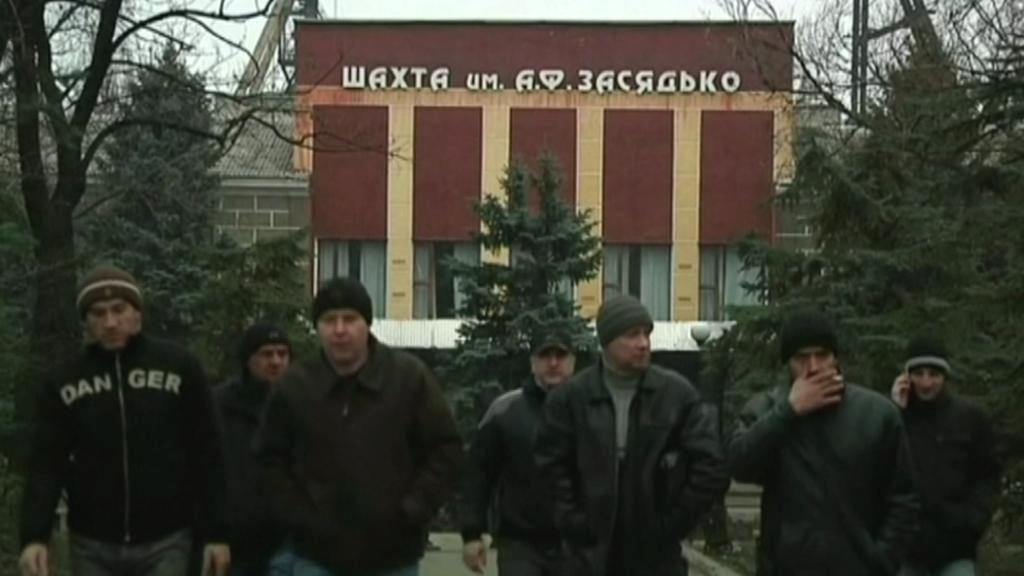 Doněcká šachta Alexandr Zasjaďko
