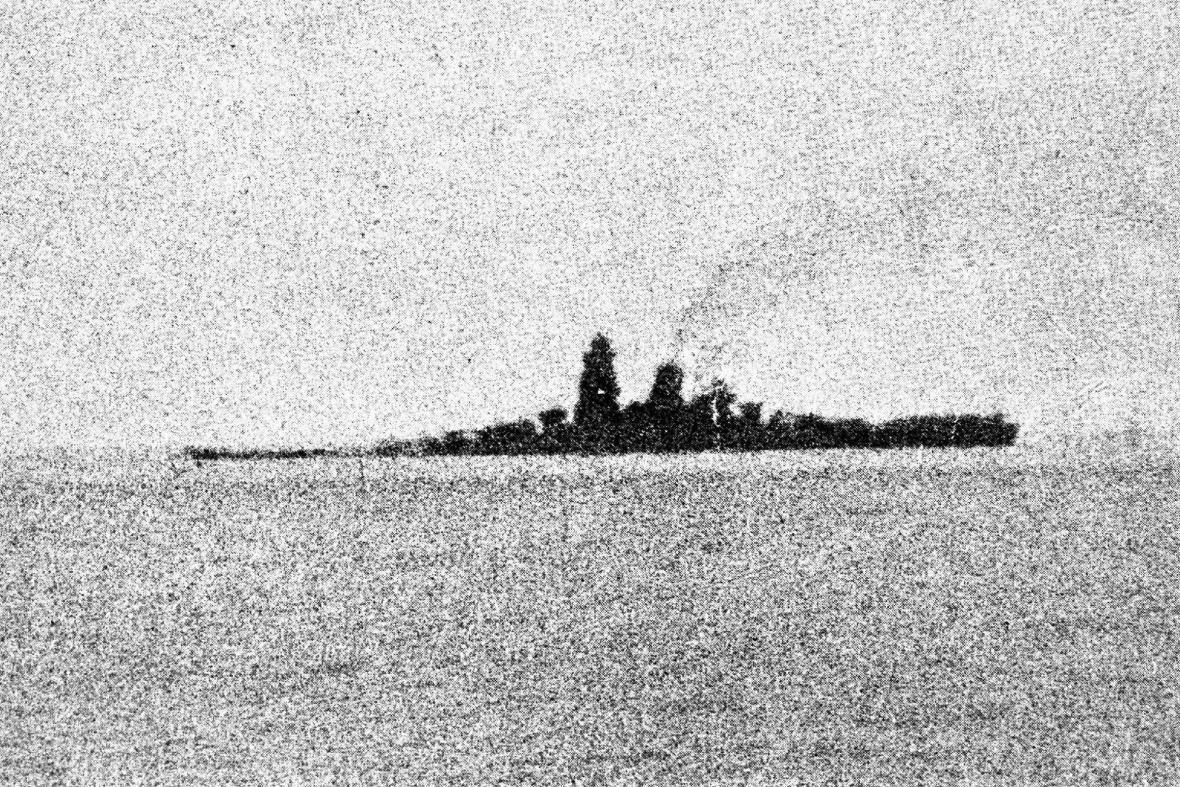 Vrak japonské bitevní lodi Musaši