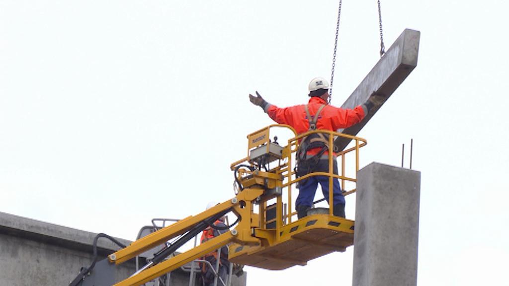 Kamera ČT v pondělí 2. 3. zachytila čilý stavební ruch