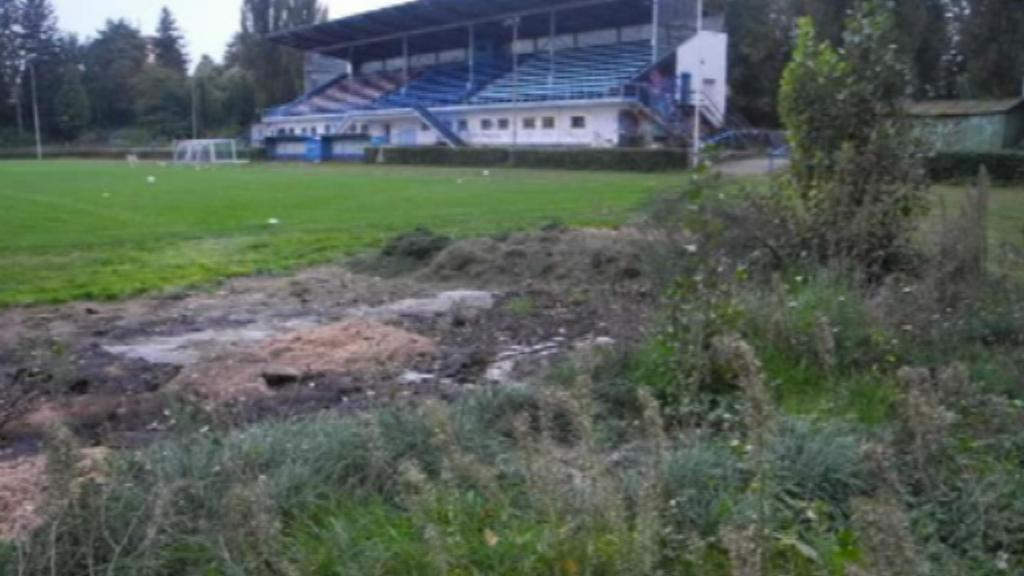 Archivní fotografie stadionu