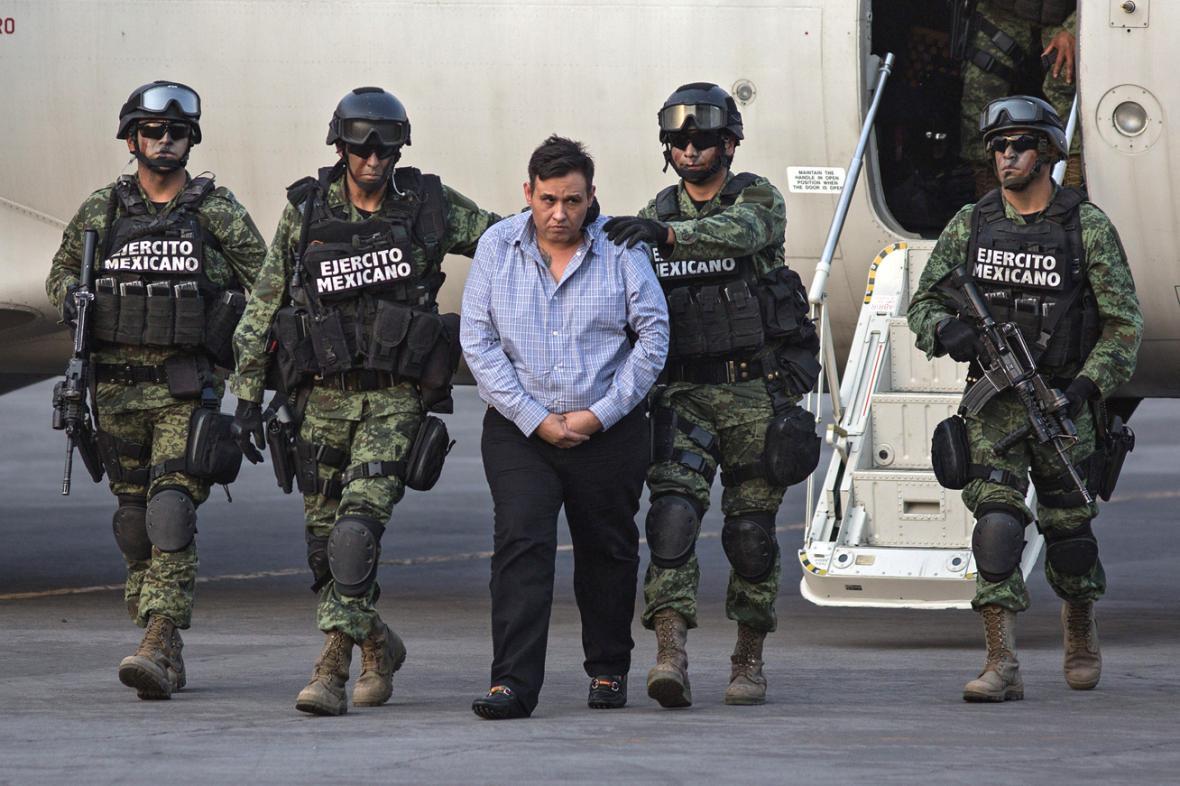 Zatčení Omara Treviňa Moralese