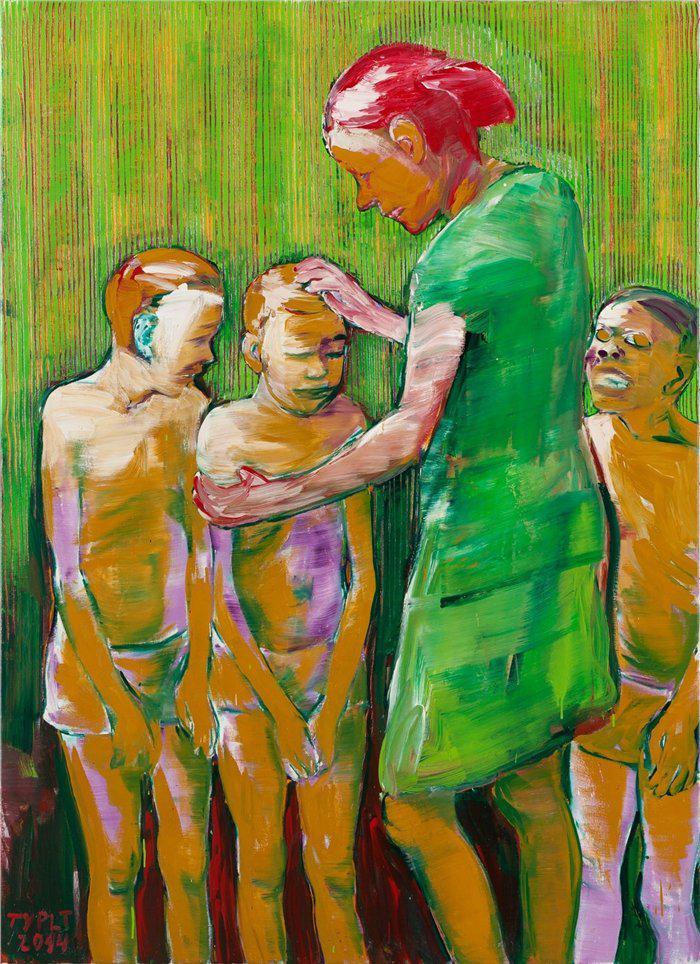 Z výstavy Kníraté odpoledne (Lubomír Typlt)