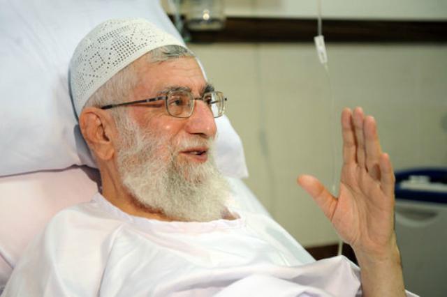 Chameneí na archivním snímku po operaci v září 2014