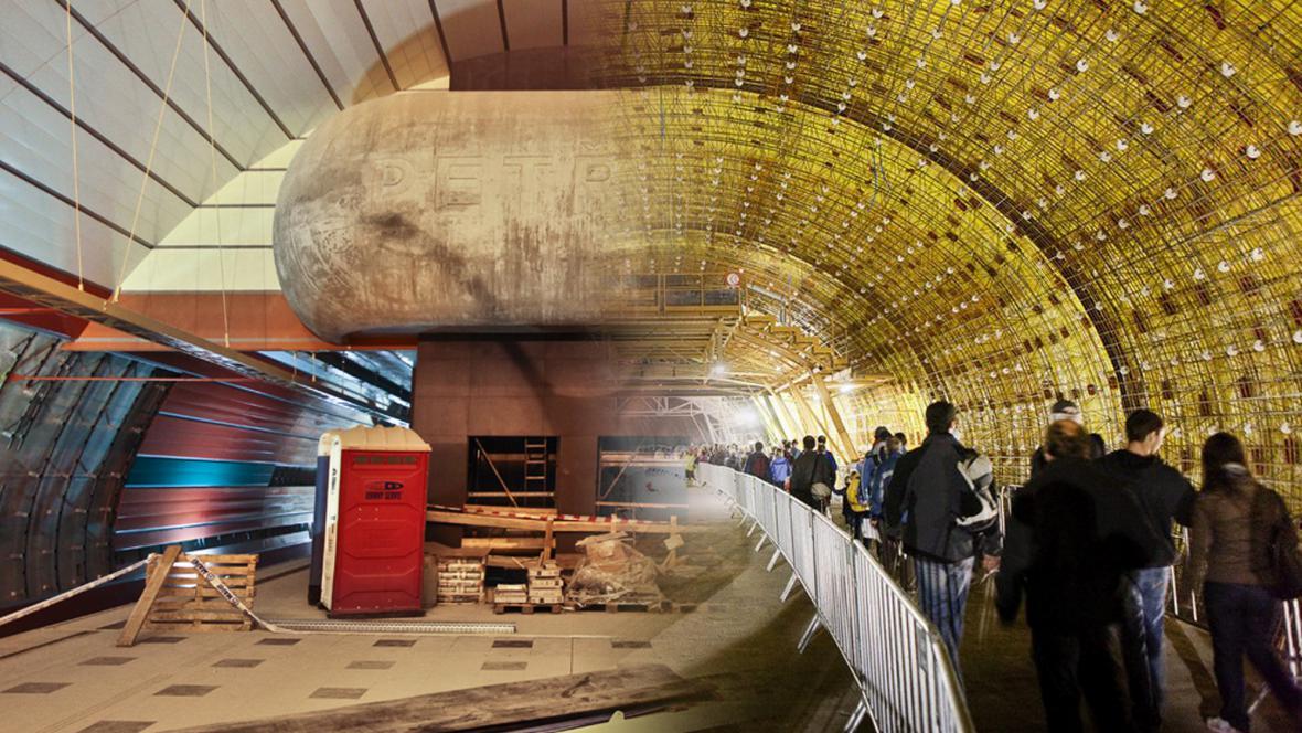 Metro A a Tunel Blanka