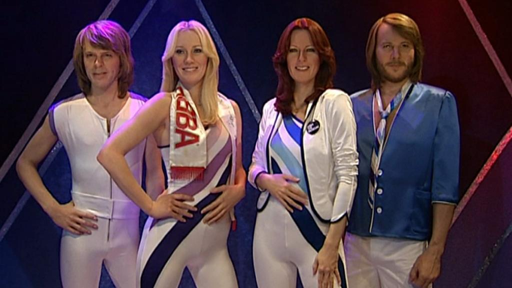 Voskové figuríny skupiny ABBA