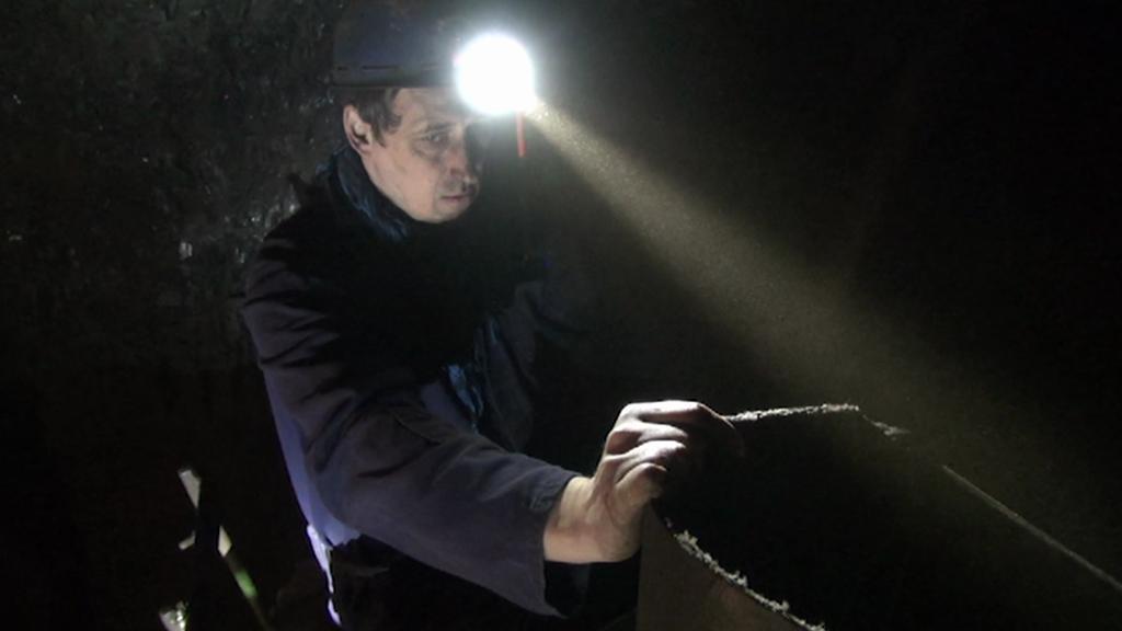 Martin Muk pracuje jako horník přes 30 let