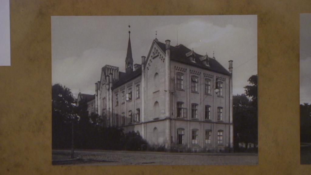 Chirurgické oddělení na archivní fotografii