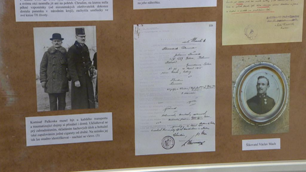 Výstava historických dokumentů a fotografií v Chrudimi