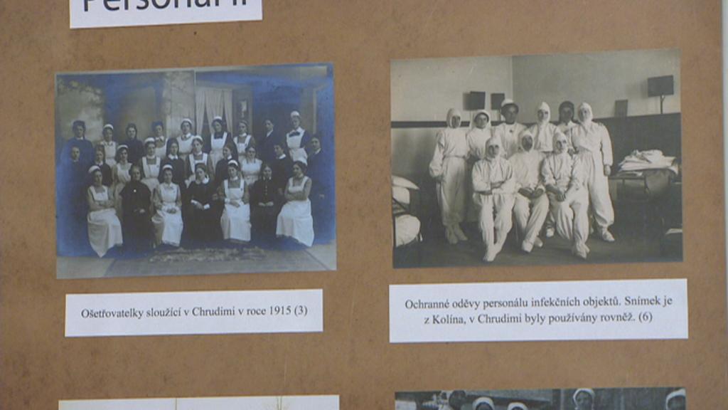 Archivní fotografie z infekčního oddělení