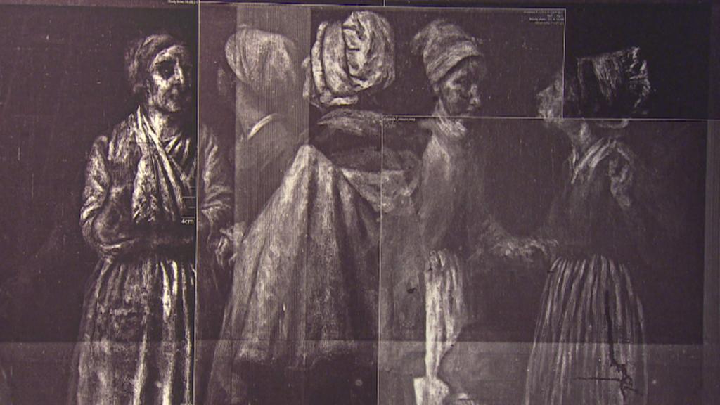 Rentgenový snímek obrazu