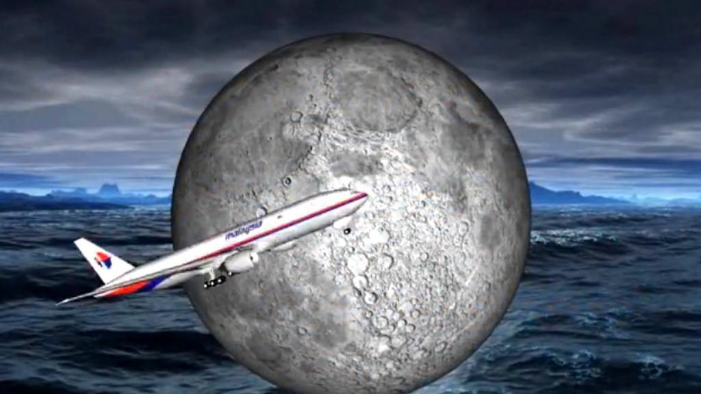 Let MH370 míří na Měsíc