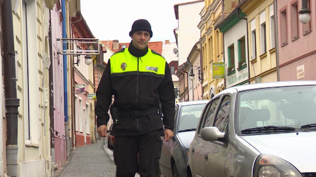 Strážník v České Lípě