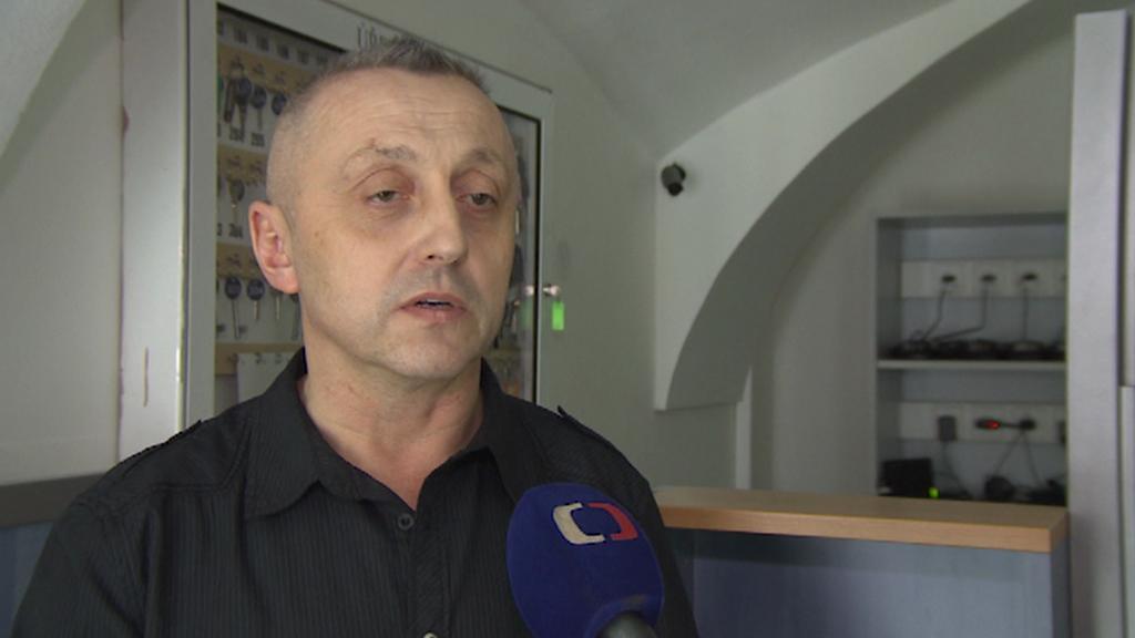 Předseda oborové organizace městské policie Antonín Doležal