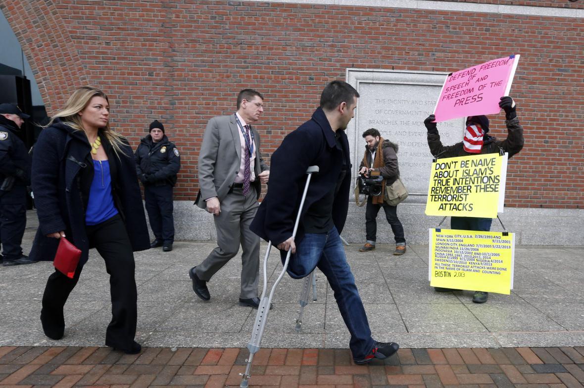 Atentát v Bostonu: U soudu vypovídali svědci