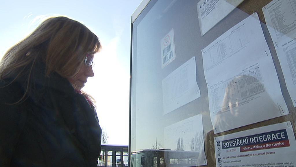 Z Mělníka denně jezdí do Prahy autobusem asi 4000 lidí