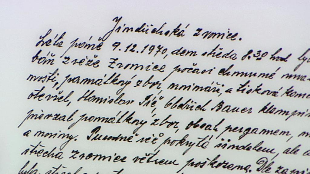 Dopis nalezený při rekonstrukci věže