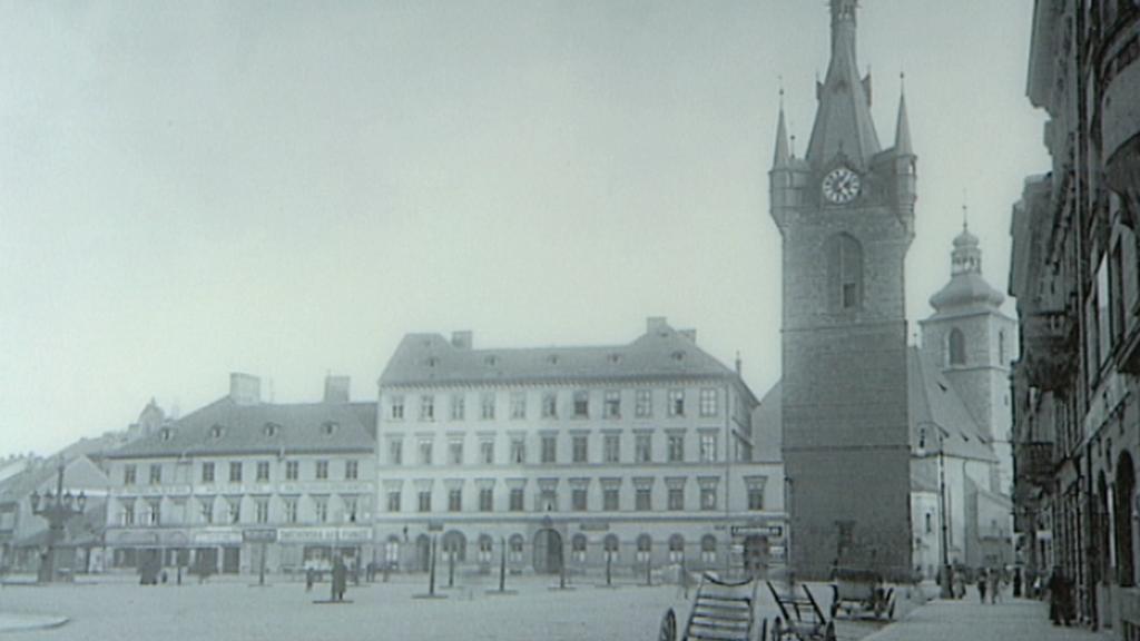 Jindřišská věže po přestavbě od Josefa Mockera