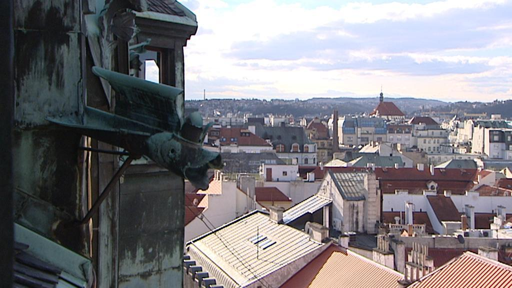 Pohled z Jindřišské věže