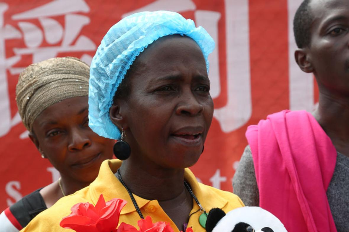 Beatrice Yardolová - poslední liberijská pacientka s ebolou