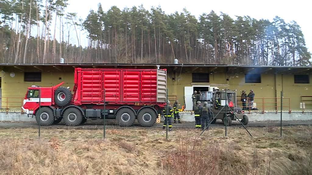 Odvoz munice z Vrbětic