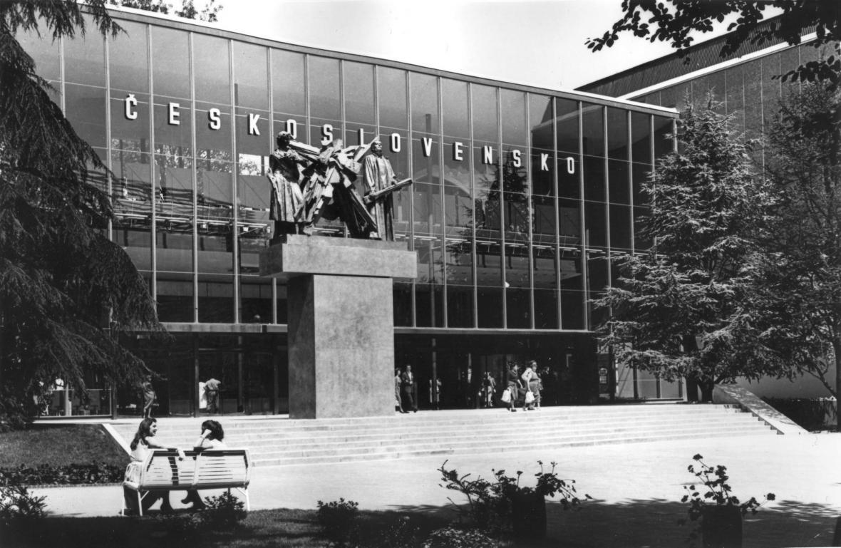Československý pavilon na EXPO 58 v Bruselu