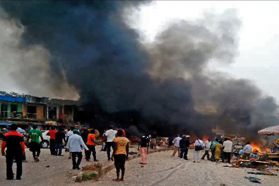 Pumové útoky na severu Nigérie