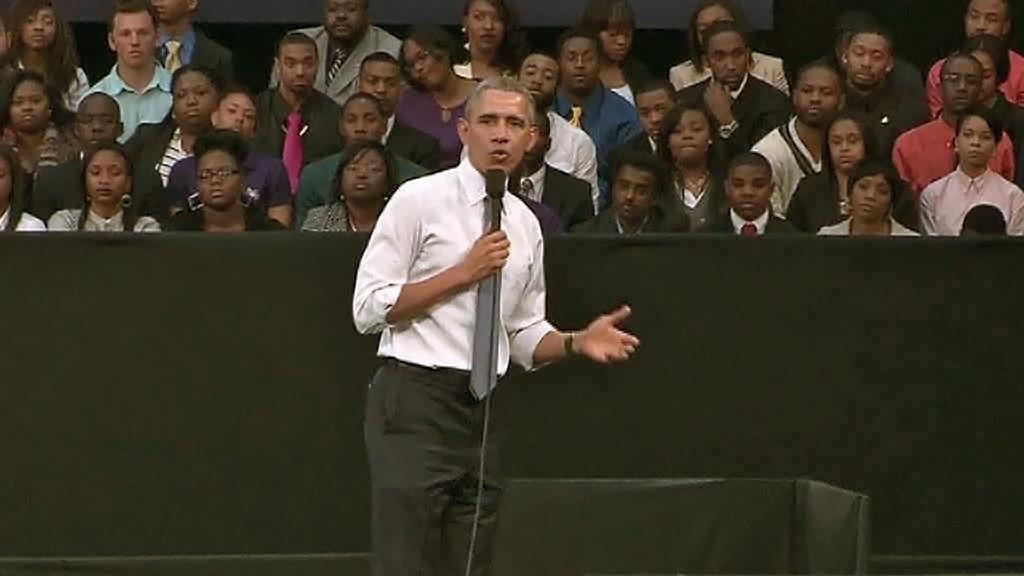 Obama: Co se stalo ve Fergusonu, byla jedna velká tragédie