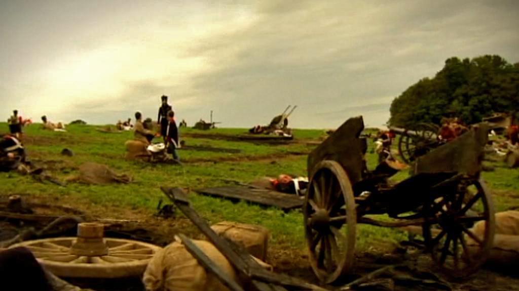 Rekonstrukce bitvy u Waterloo