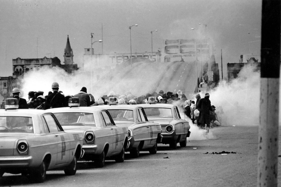 Zásah proti demonstrantům v Selmě 7. března 1965